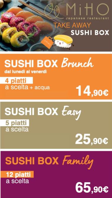 Sushi Box Miho